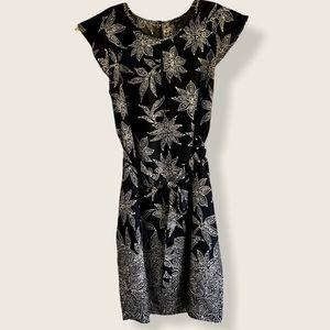 Ann Taylor cap sleeve summer travel dress